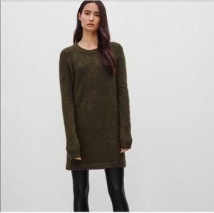 Aritzia Wilfred Free Carangi Sweater Dress